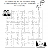 Father's Day Maze