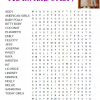 Our Favorite Dolls Word Search
