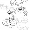 Leap Year Coloring Page