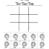 Print and Play Turkey Tic Tac Toe