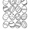 Easter Egg Color and Match Printable