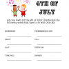 Patriotic July 4th Printables