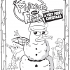 Phineas & Ferb Very Perry Christmas Coloring Pages