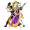 Disney's Tangled Movie Coloring Pages