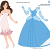 Princess Kate Printable Paper Doll
