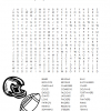 It's Football Season! Football Word Search