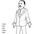 Martin Luther King Jr Color By Number Printable