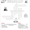 February Crossword Puzzle