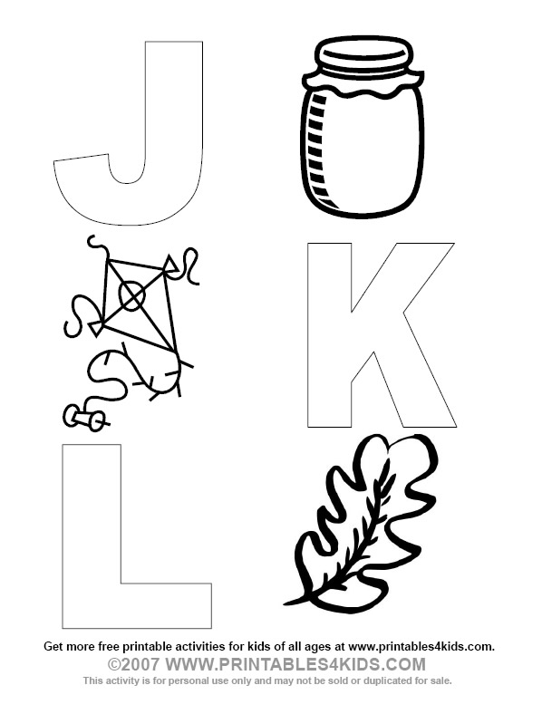 Letter L Word Find Colouring Pages