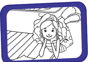 Groovy Girls Coloring Pages
