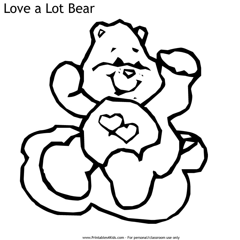 Care Bears Coloring Pages - GetColoringPages.com | 800x800