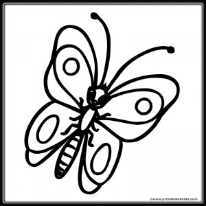Butterfly Coloring Page 10