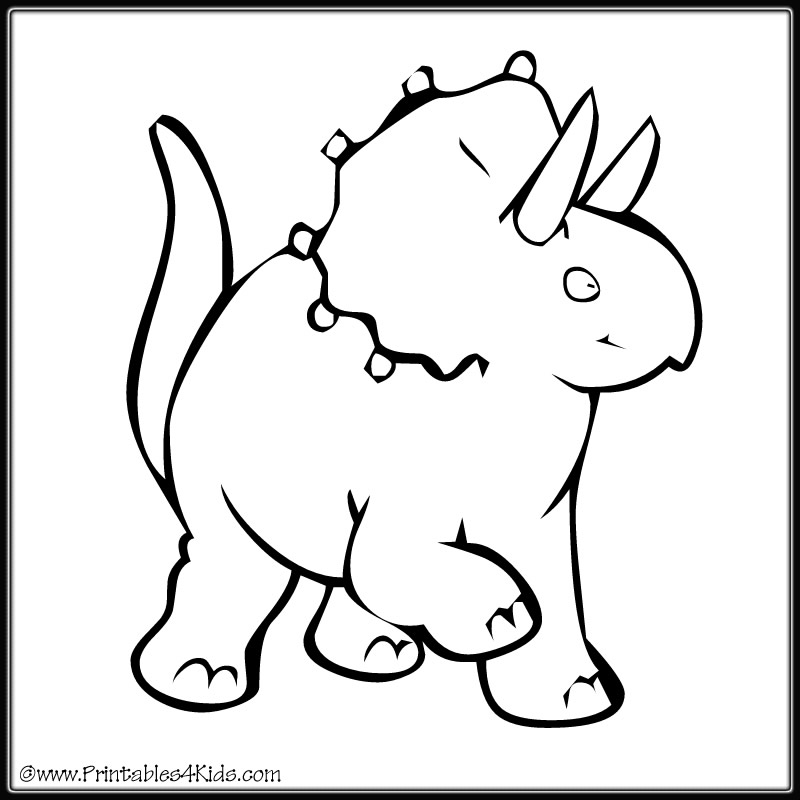 Dinosaur activities for children dltk kidscom party for Dinosaur coloring pages for toddlers
