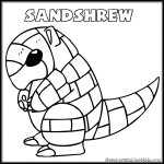 Pokemon Sandshrew