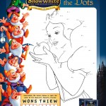 Snow White Connect the Dot