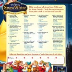 Snow White & 7 Dwarfs Trivia Game