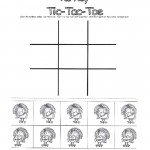 Thanksgiving Turkey TIc Tac Toe