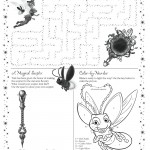 Tinker Bell Activity Sheet