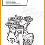 Clever Kids Alphabet Zoo Printable