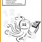 Clever Kids Printable Octopus Number Activity