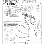 Princess and the Frog Puzzle Page
