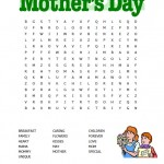 Printable Mothers Day Wordsearch