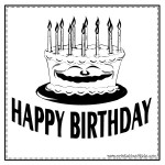 Birthday Coloring Pages - Free Coloring Sheets