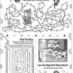 Phineas Ferb Christmas Printable Activities