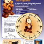 Beauty and the Beast Learn to Tell Time Activity