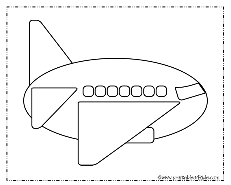 Airplane coloring pages preschool airplane coloring pages preschool photo23 pronofoot35fo Images