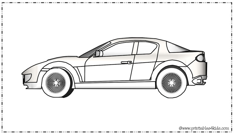 Interesting Ppg Car Coloring Pages Coloring Book Muscle