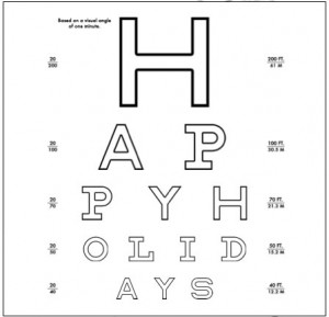 printable custom eye chart