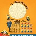 Despicable Me Printable Maze, Word Search and Game