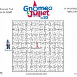 Free Gnomeo Juliet Movie Maze