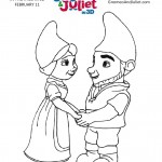Gnomeo and Juliet Movie Printable Coloring Page