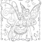 Barbie A Fairy Secret Coloring Page