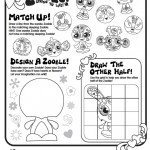 Zoobles Printable Activity Page