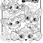 Zoobles Coloring Page