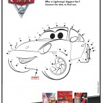 Cars 2 Movie Dot to Dot printable