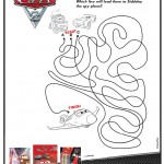 Cars 2 Maze activity