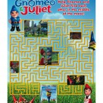 Gnomeo and Juliet Printable Maze