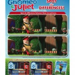 Gnomeo and Juliet Spot the Differences Printable