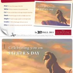 Lion King Father's Day Memory Book