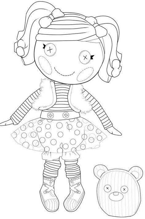 Lalaloopsy coloring pages baby elephant photo16