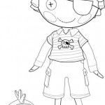 Lalaloopsy Patch Treasurechest coloring page