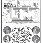 Fox and Hound 2 Printable Maze