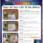 Mars Needs Moms Marble Art