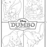 Dumbo movie printable coloring pages