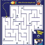 Mickey Mouse Clubhouse Space Adventure Printable Maze