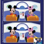 Mickey Mouse Clubhouse Space Adventure Spot the Difference Printable